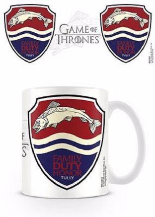Game Of Thrones (Tully) - MUG (11oz) (Brand New In Box)